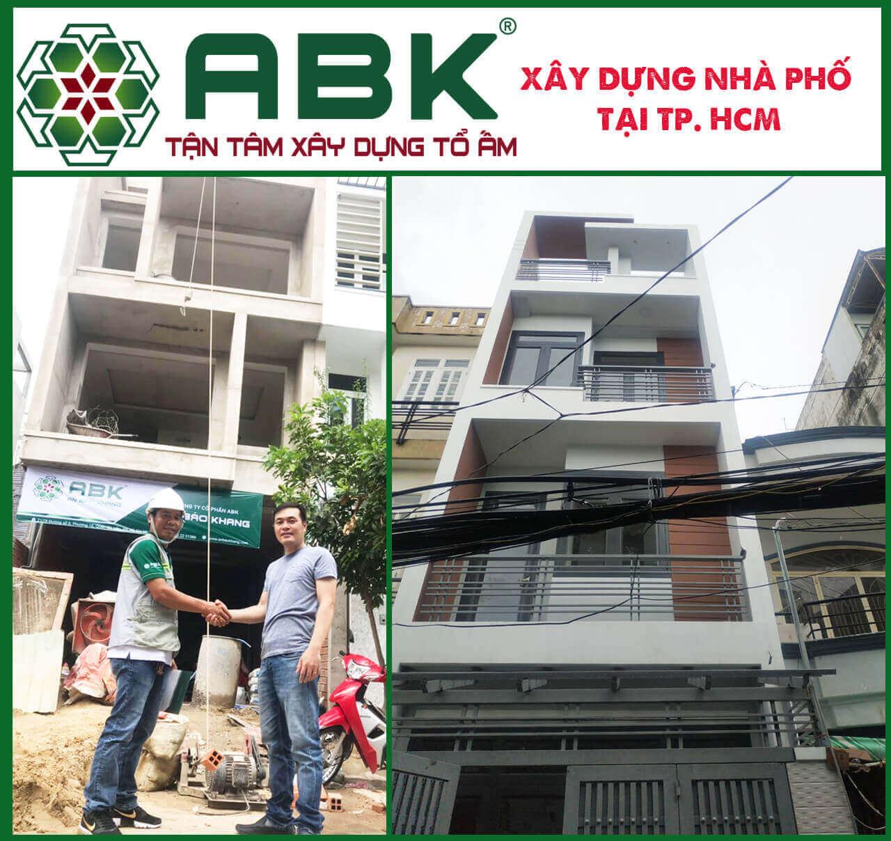 Công ty thiết kế xây dựng nhà phố giá rẻ tại TP. HCM