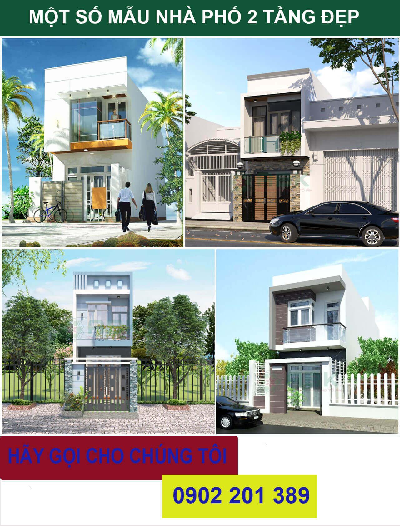 Chi phí xây nhà 2 tầng 70m2