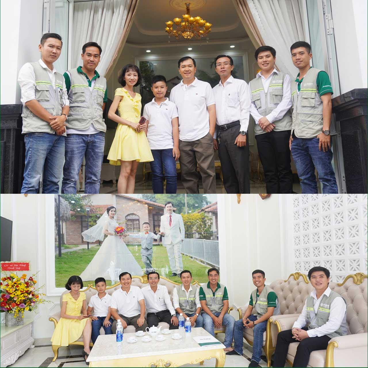 Bàn giao nhà biệt thự hiện đại gia đình Anh Sơn – Hóc môn
