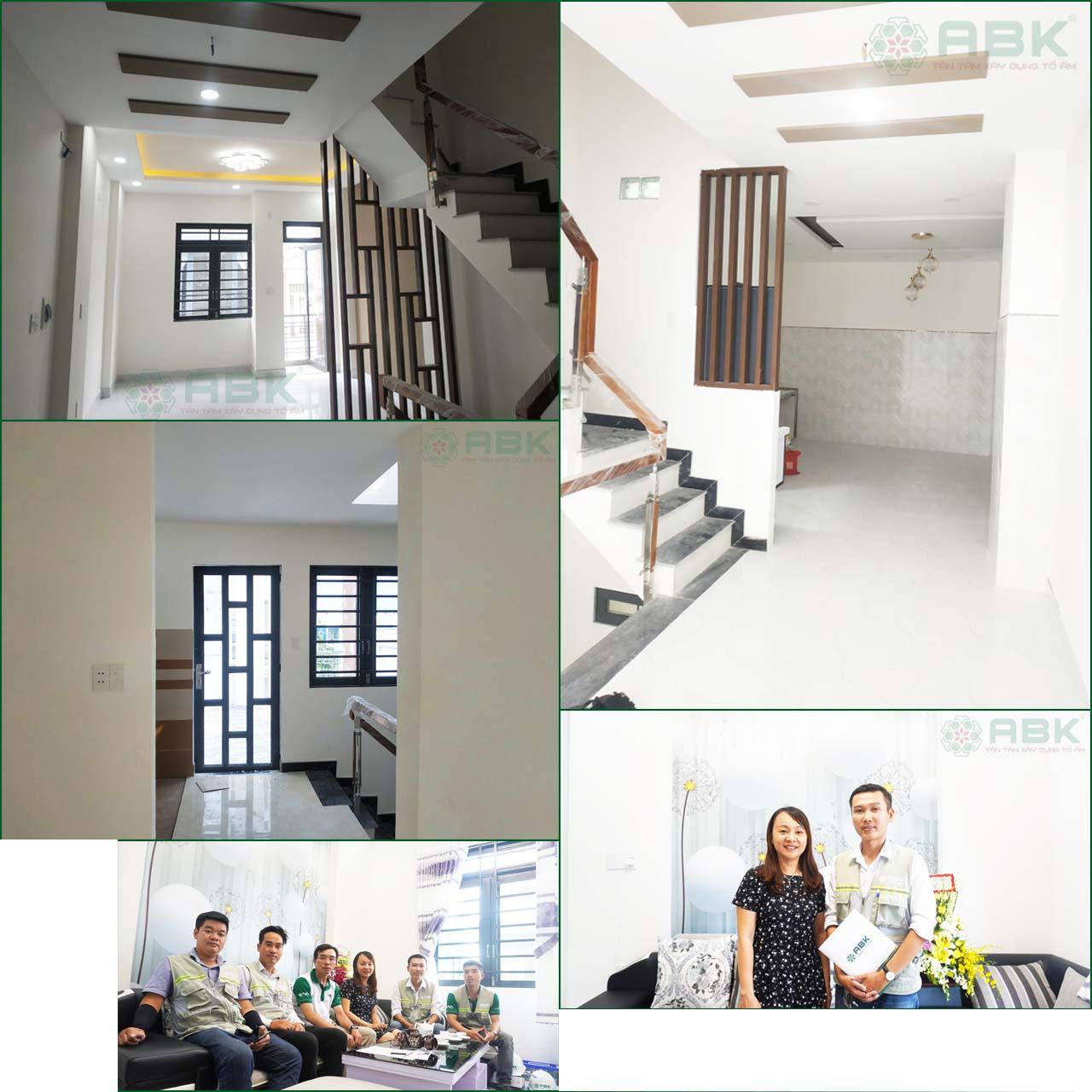 Bàn giao nhà mới Chị Trang-Quận Gò Vấp