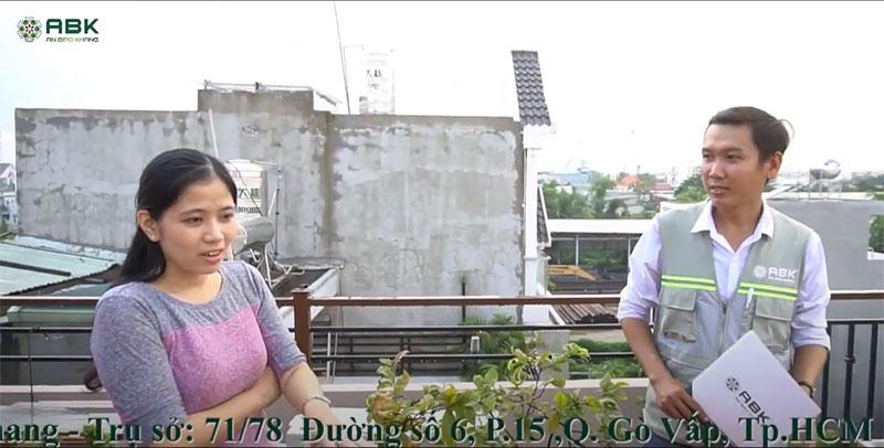 Hoàn thiện xây nhà trọn gói| Chị Trinh – Quận 12