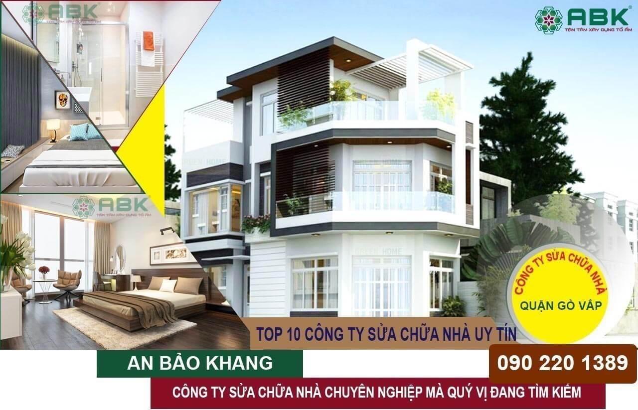 Công ty sửa chữa nhà quận Gò Vấp