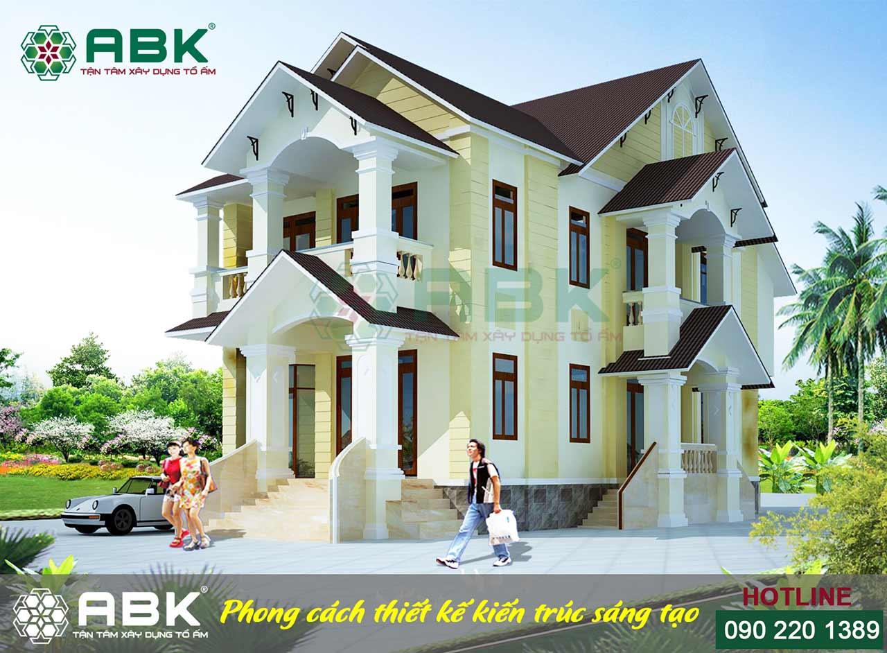xây dựng nhà biệt thự
