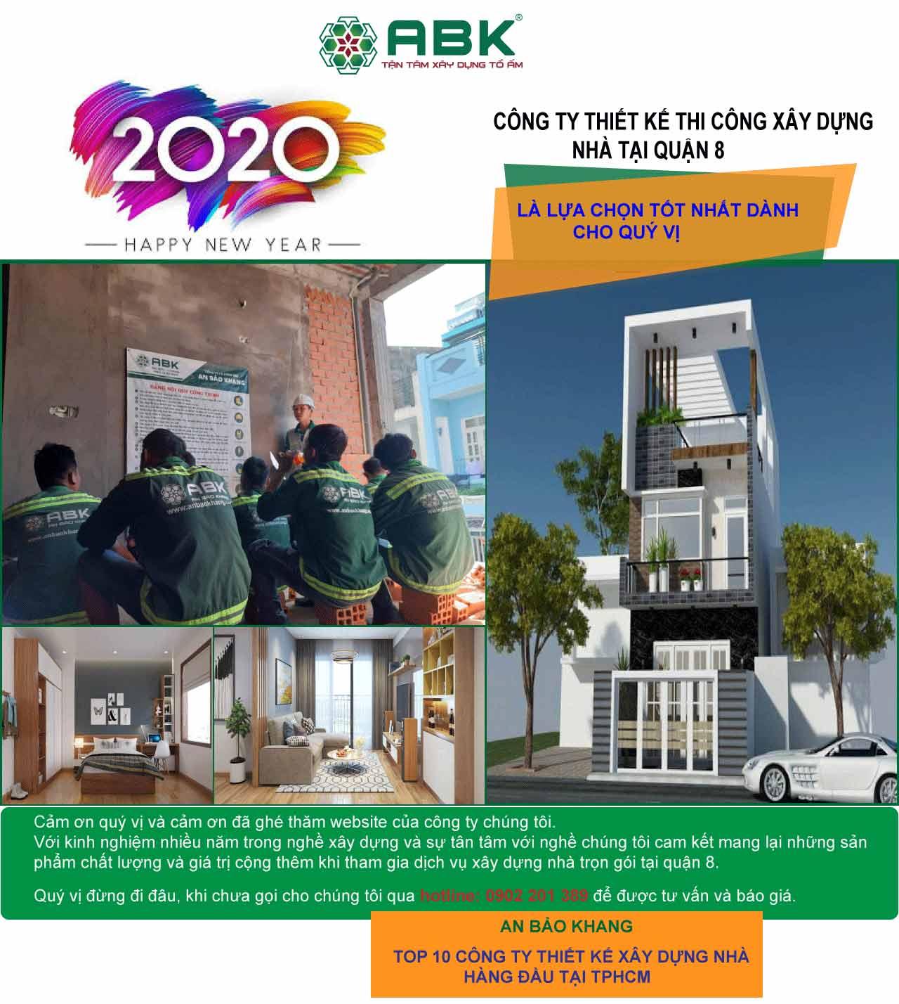 Công ty thiết kế xây dựng nhà Quận 8