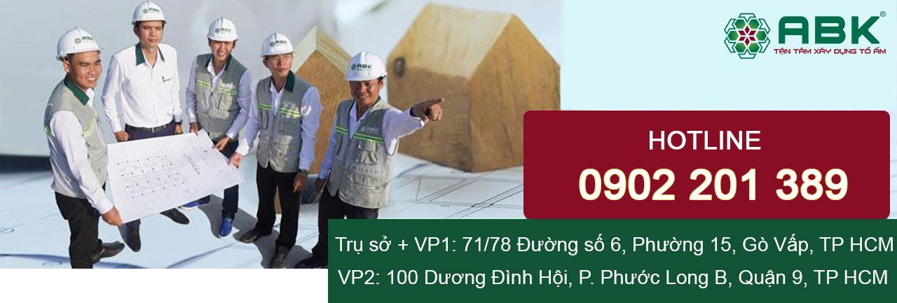 xây nhà trọn gói 4 tầng 5x10m