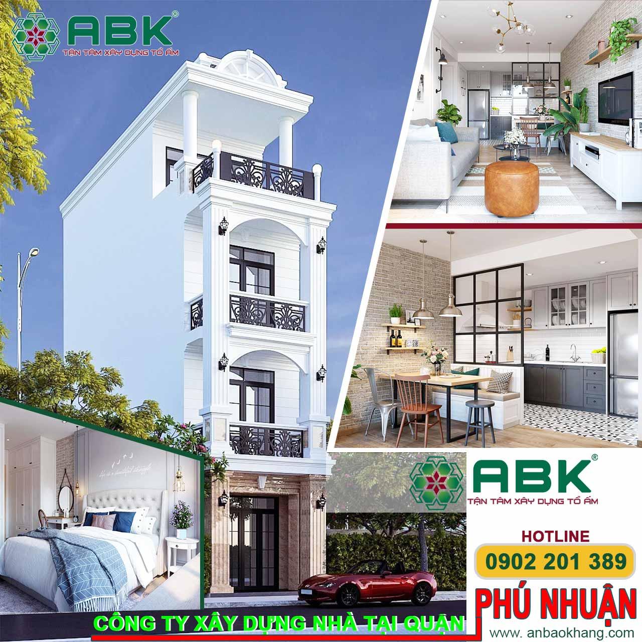 Công ty thiết kế xây dựng nhà quận Phú Nhuận