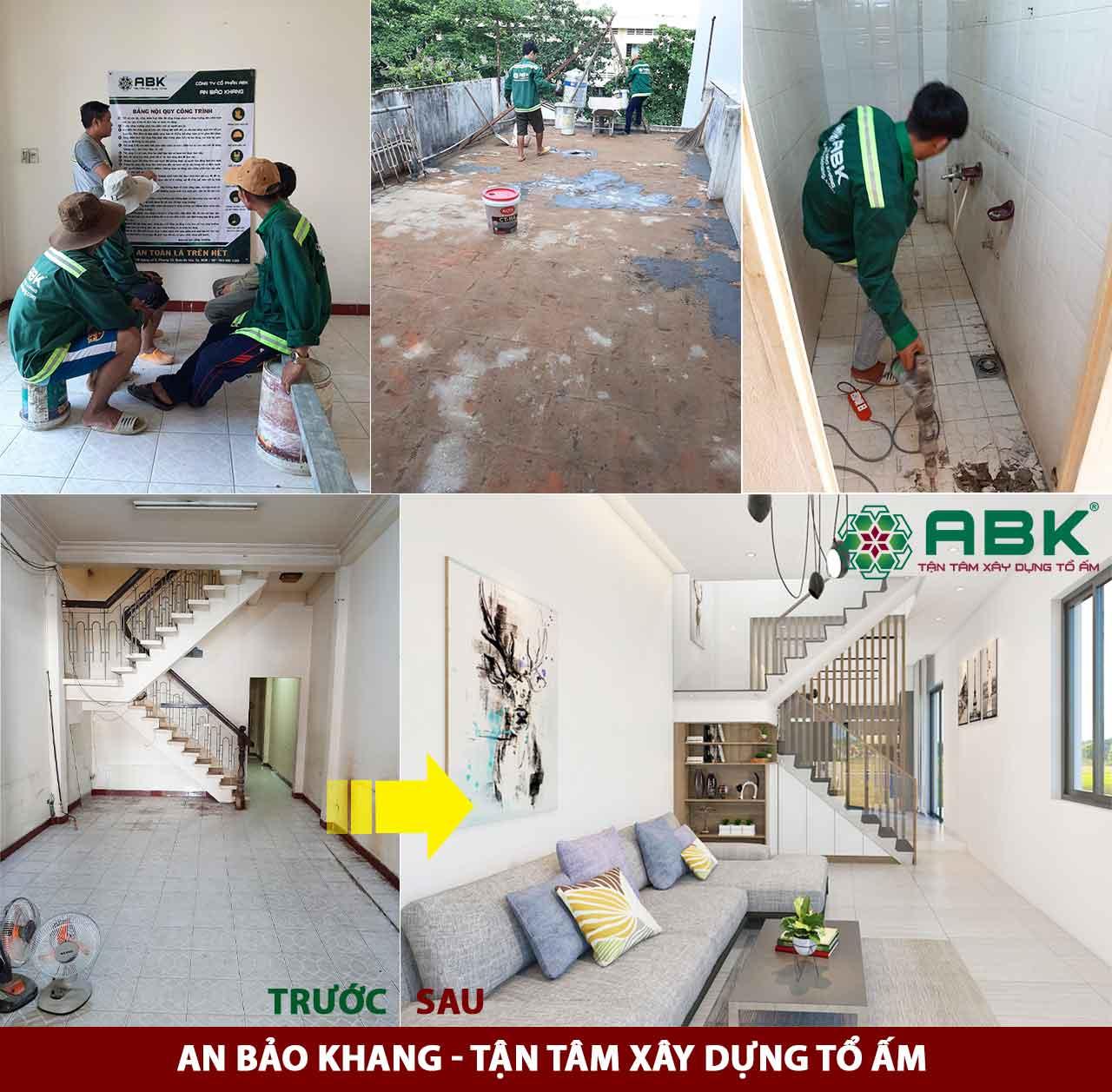 Sửa chữa nhà tháng 05