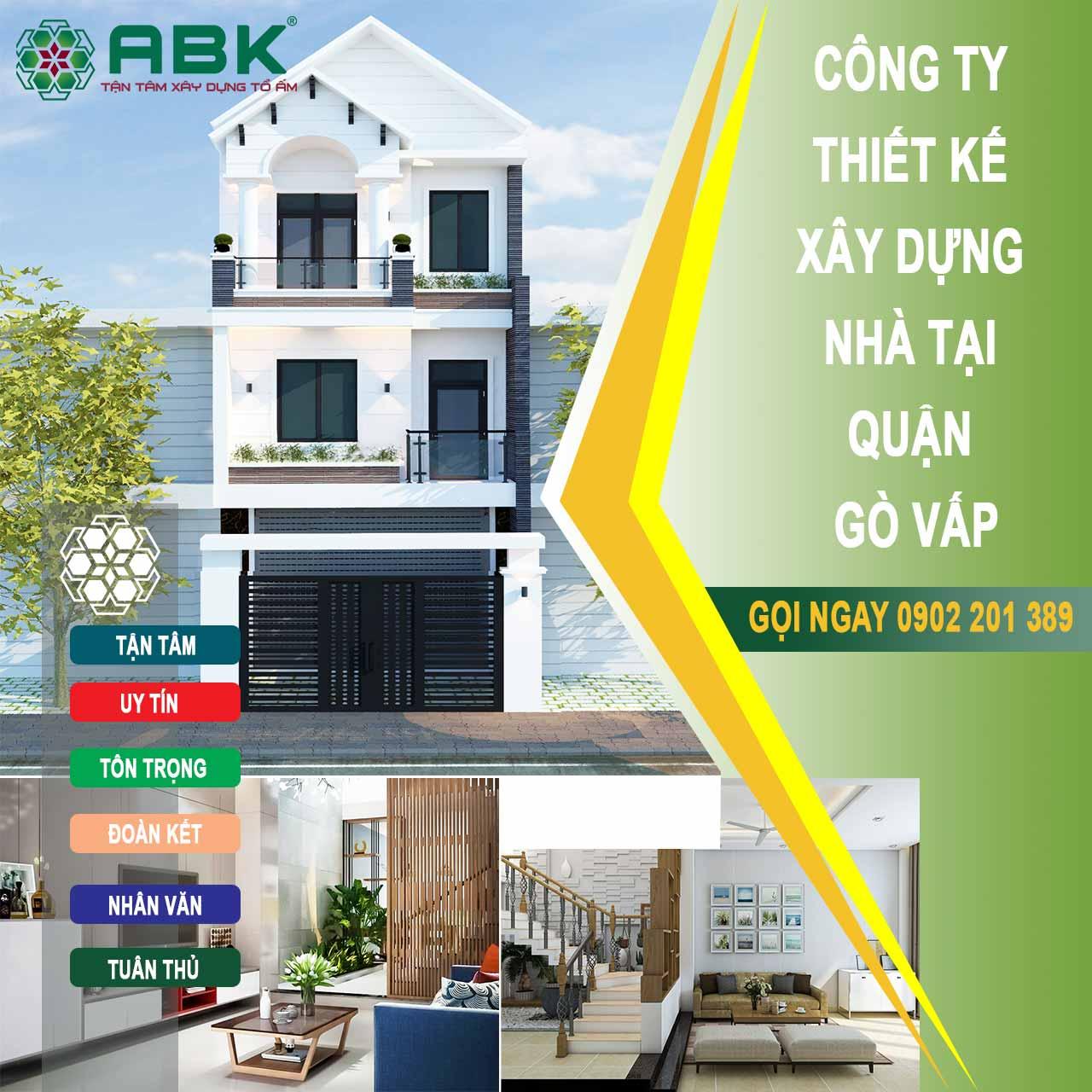 Công ty thiết kế xây dựng nhà quận Gò Vấp