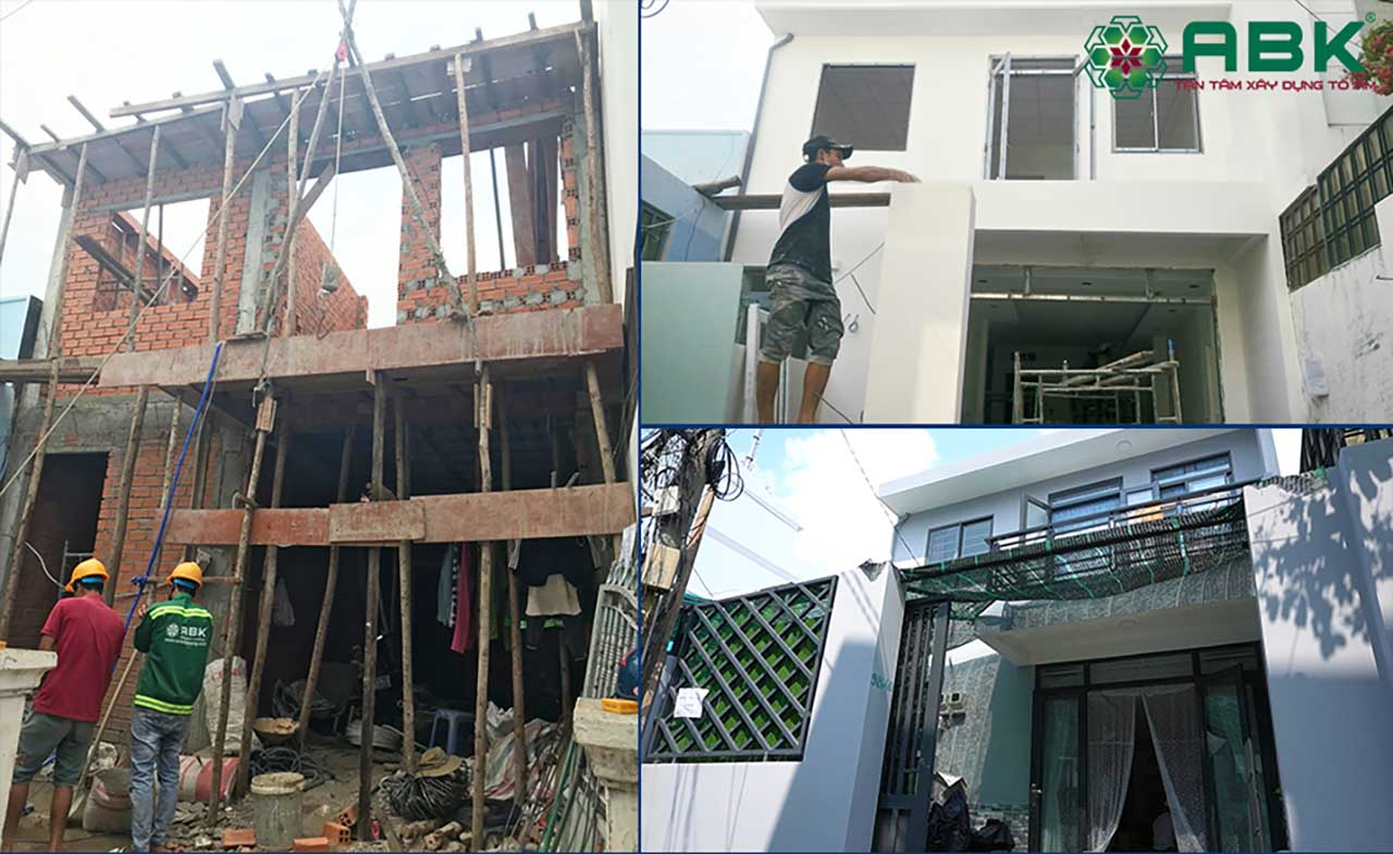 Bàn giao công trình sửa chữa nhà trọn gói