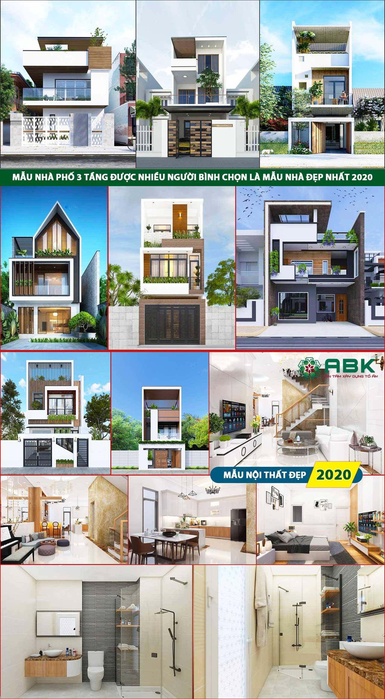Chi phí xây nhà 3 tầng 110m2