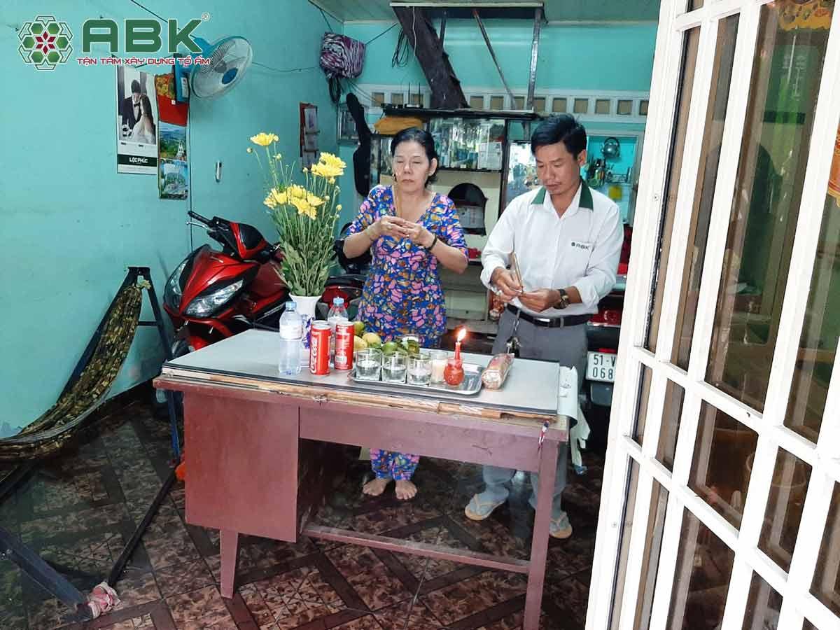 Thi công sửa nhà chị Phượng quận Gò Vấp