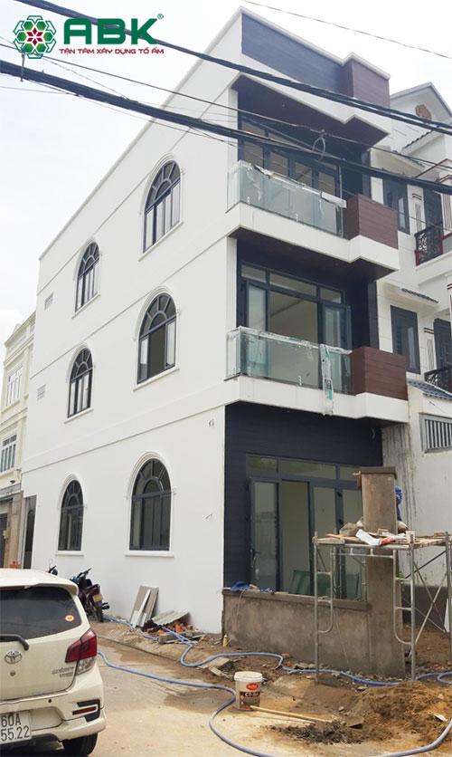 Xây dựng nhà phố 3 tầng Anh Tuấn Thủ Đức