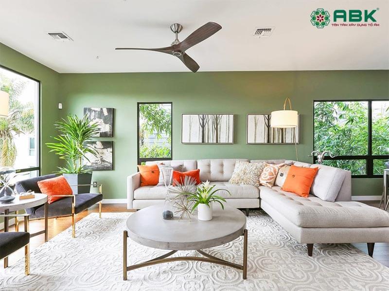 5 sắc màu lên ngôi trong thiết kế nội thất