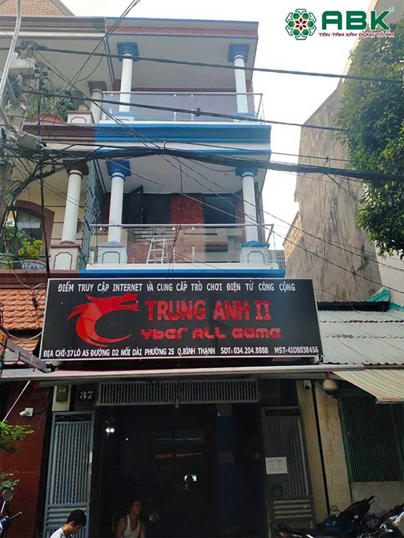 Sửa chữa nhà anh Trung quận Bình Thạnh