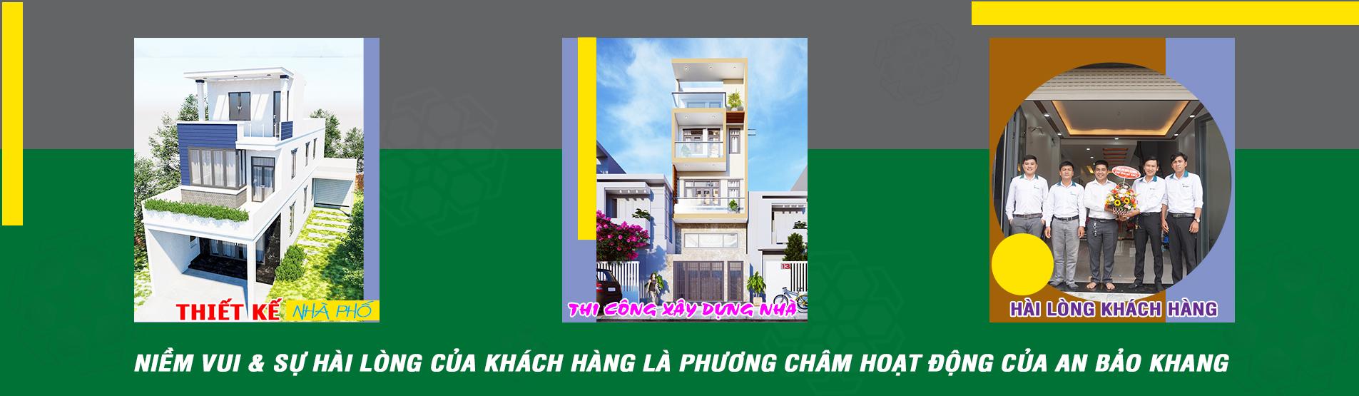 Banner phương châm hoạt động của An Bảo Khang