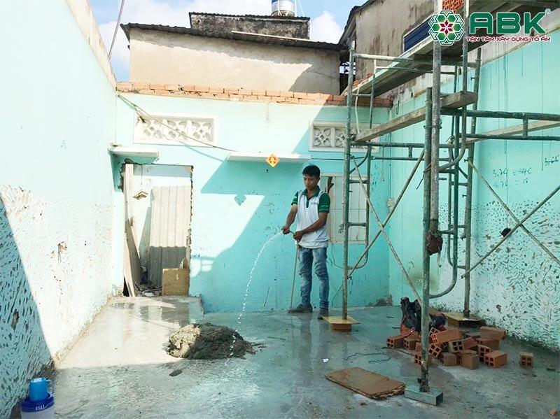 Sửa nhà chị Phượng quận Gò Vấp