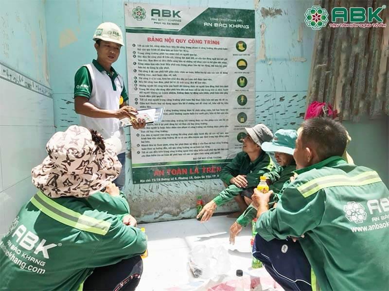 Dịch vụ sửa chữa nhà trọn gói quận Gò Vấp