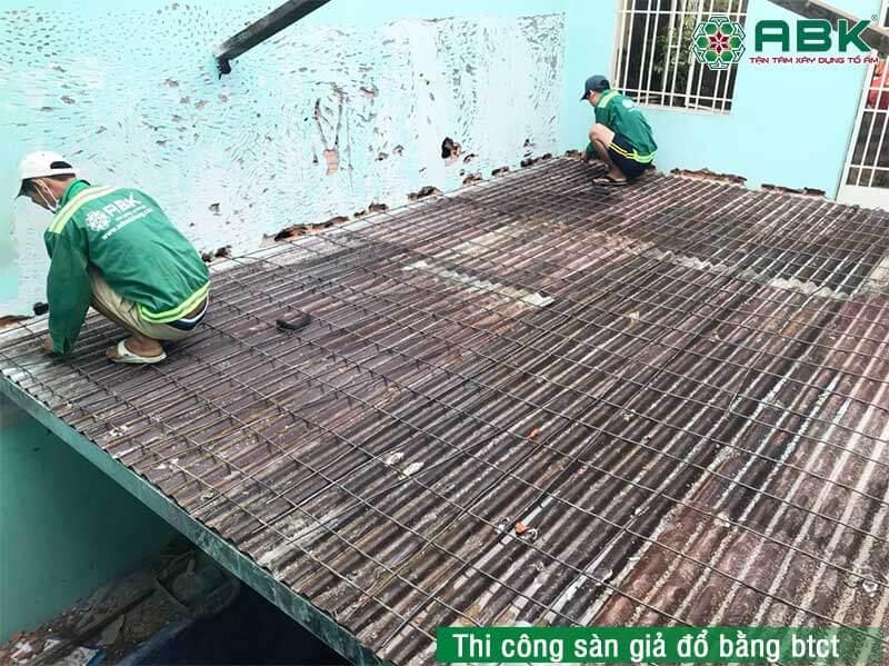 Sửa nhà giá rẻ tại quận Gò Vấp