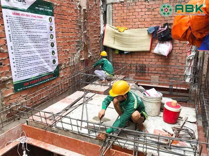 khởi công xây dựng nhà chị liên quận 3