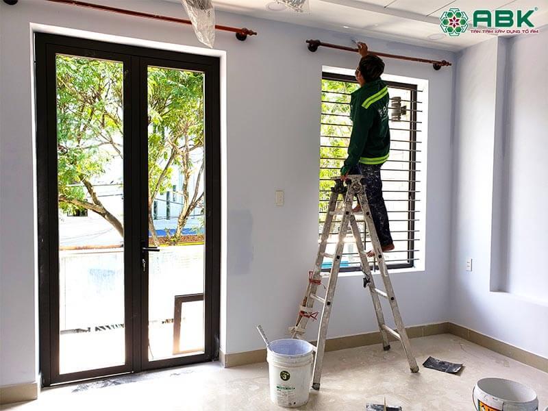 Quá trình thi công sửa nhà anh Thọ quận Thủ Đức