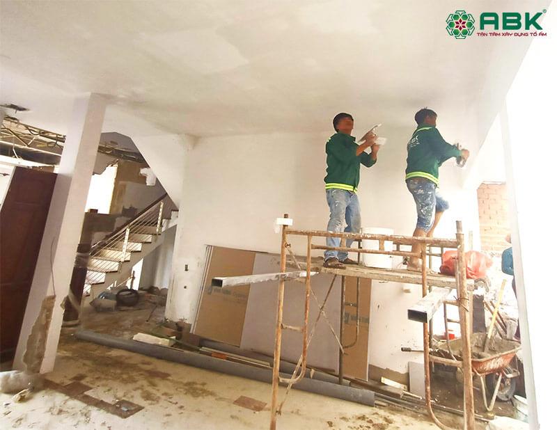 nhà thầu sửa nhà quận Thủ Đức