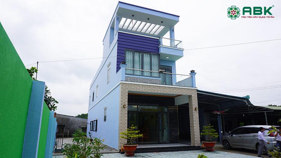 Xây nhà anh Hiếu tại Đồng Nai