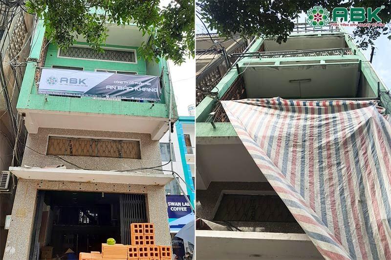 Khởi công sửa chữa nhà chị Hằng quận Tân Bình