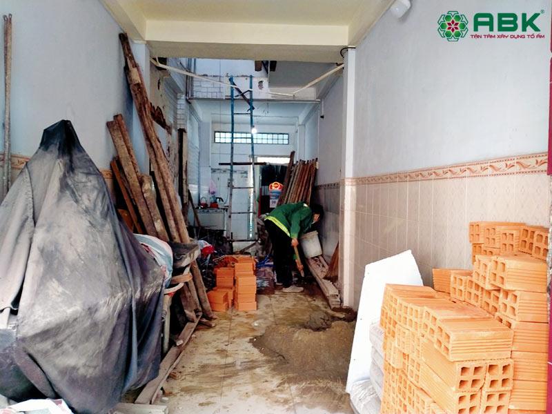 sửa nhà chị Thu quận Bình Thạnh