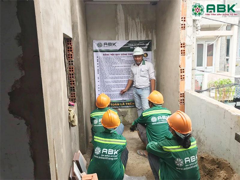 Khởi công 5 công trình sửa nhà tại Tp HCM