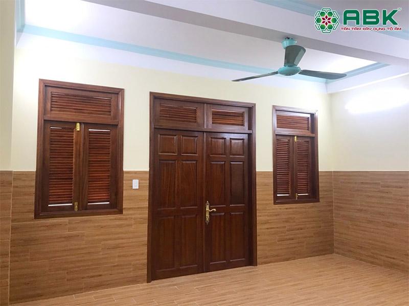 sửa nhà nâng tầng nhà anh Tiến quận Tân Bình