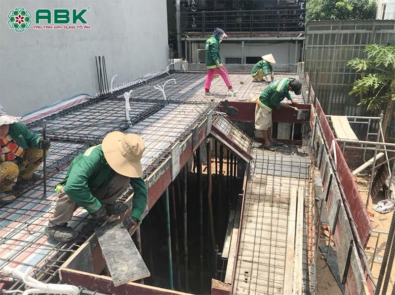 Xây dựng nhà phần thô & nhân công hoàn thiện tại Bình Dương