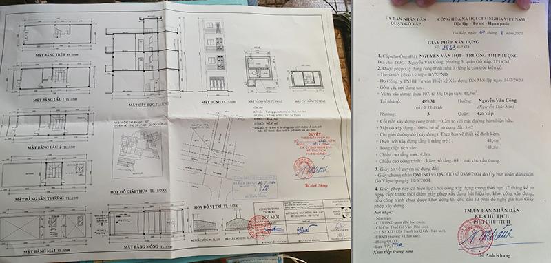 Giấy phép xây dựng nhà