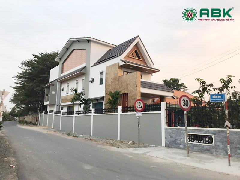 Hình ảnh tổng thể ngôi nhà chị Mỹ tại Đồng Nai