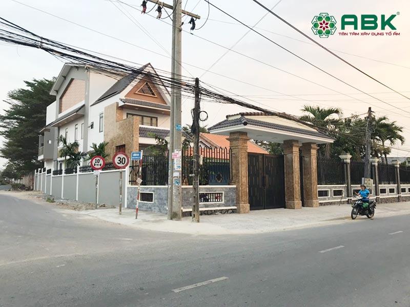 Xây dựng nhà phố 3 tầng mái thái tại Đồng Nai