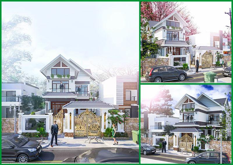 Mẫu thiết kế nhà biệt thự đẹp và sang trọng