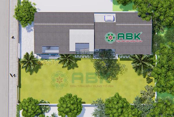 Mẫu thiết kế nhà biệt thự vườn hiện đại diện tích 8m x 24m