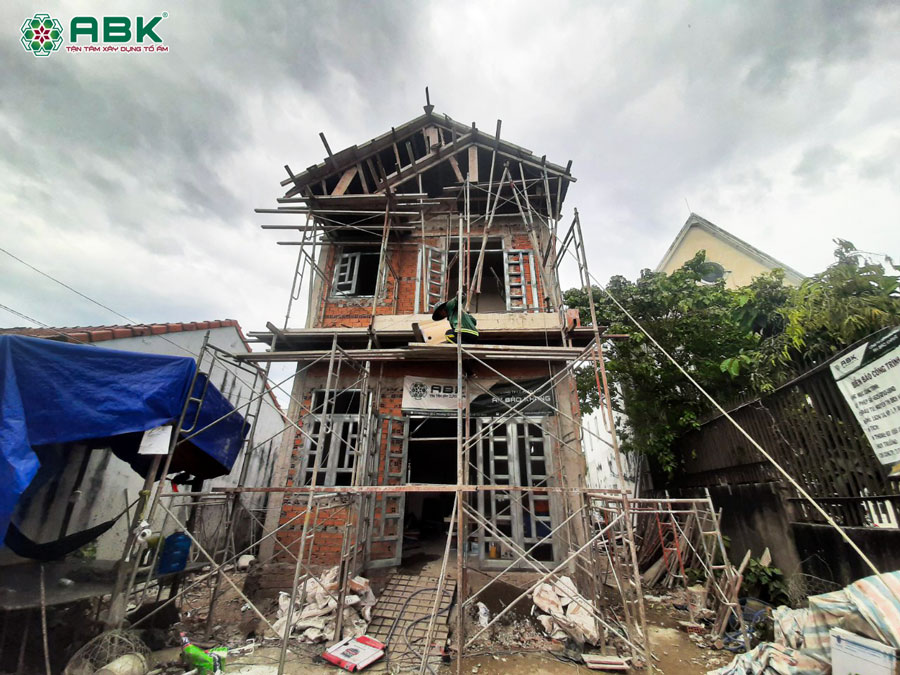cách tính giá xây nhà phần thô nhà biệt thự 2 tầng