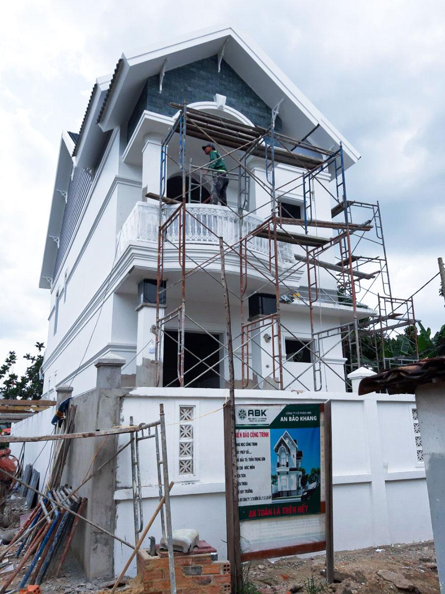 Tầm quan trọng của xây nhà phần thô với ngôi nhà
