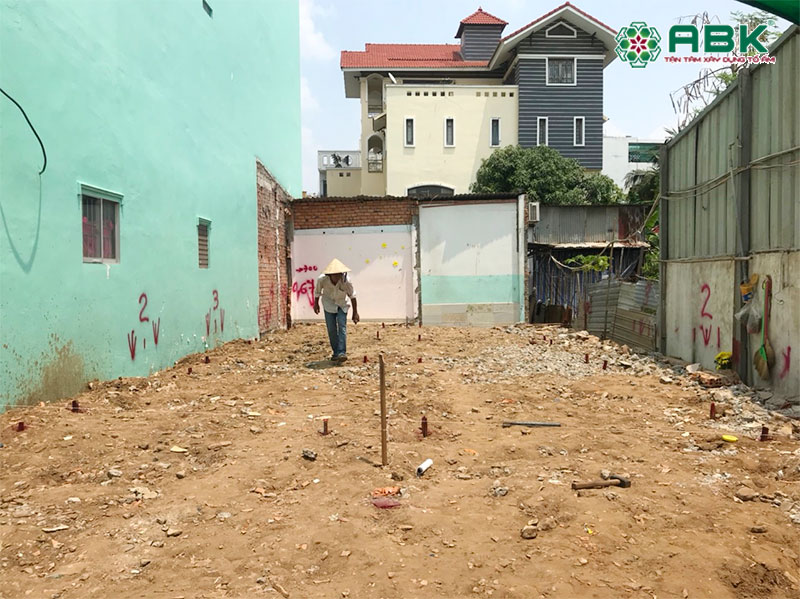 khởi công xây dựng nhà phố 5 tầng tại quận 7