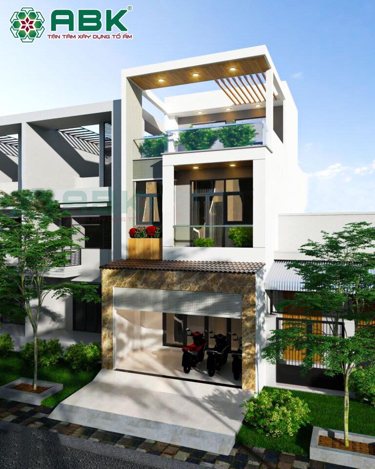 Hình ảnh thiết kế của ngôi nhà chị Linh tại Quận 7