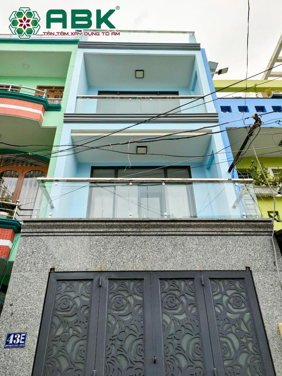 Hình ảnh hoàn thiện nhà anh Hiệp Quận Bình Tân
