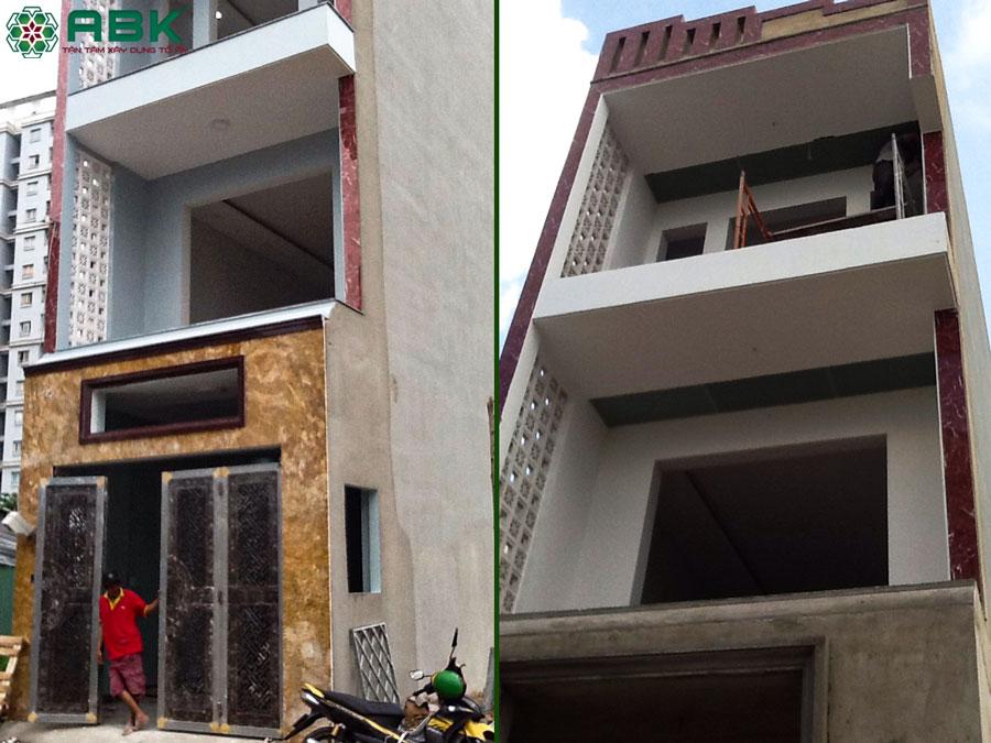 Hình ảnh hoàn thiện nhà chị Dung Quận Thủ Đức