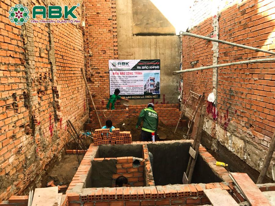 Khởi công xây dựng nhà anh Thuật ở Quận Gò Vấp