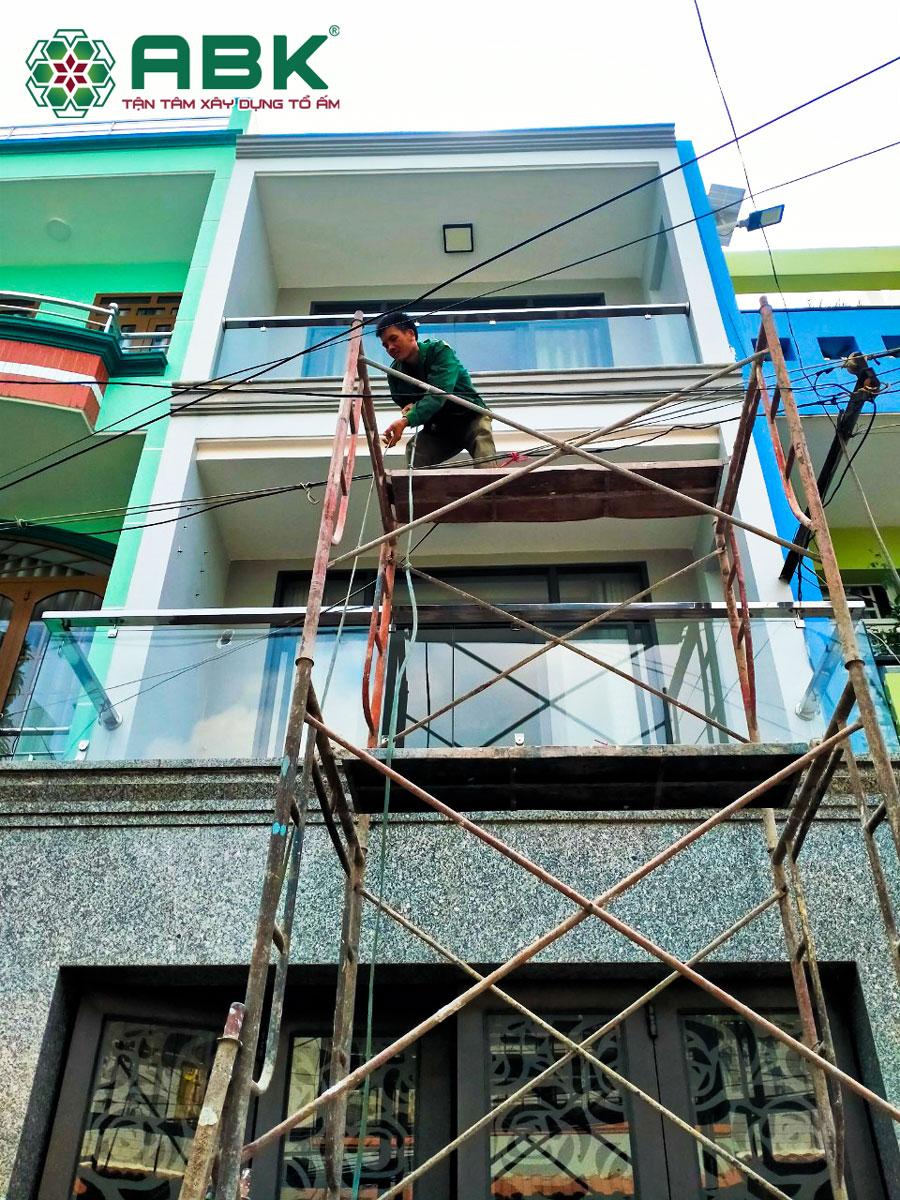 Sửa nhà trọn gói nhà anh Hiệp Quận Bình Tân