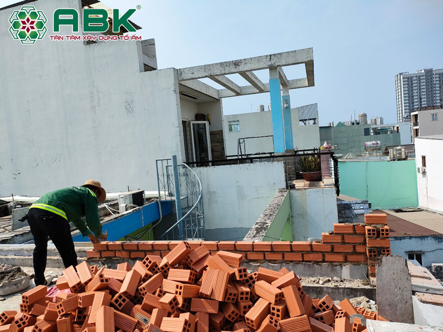 Sửa nhà trọn gói nhà anh Hiệp Phường An Lạc Quận Bình Tân