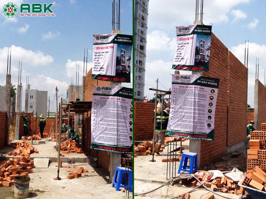 Th công xây tường tầng trệt nhà chị Dung Quận Thủ Đức