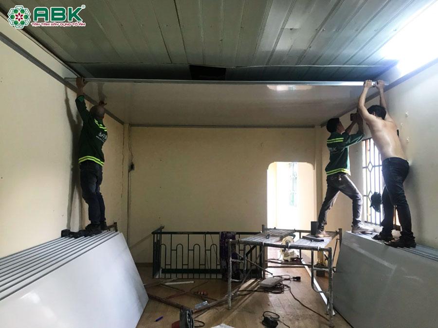 Quá trình sửa chữa nhà anh Bảo ở Quận 12