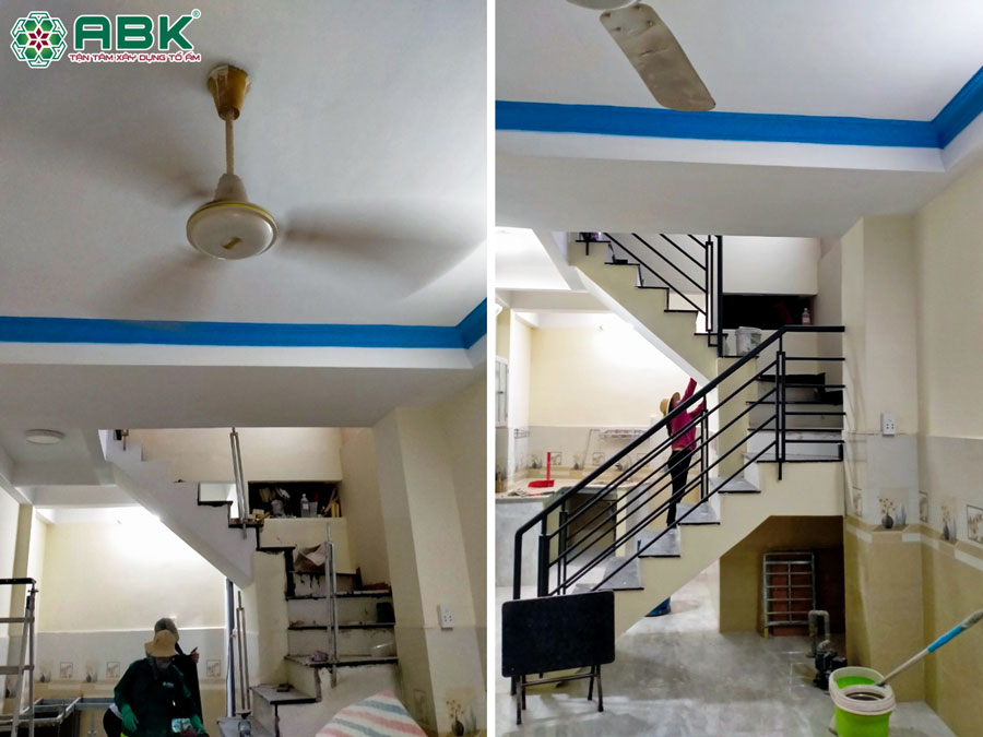 Thi công hoàn thiện nhà anh Thịnh ở Quận Tân Bình