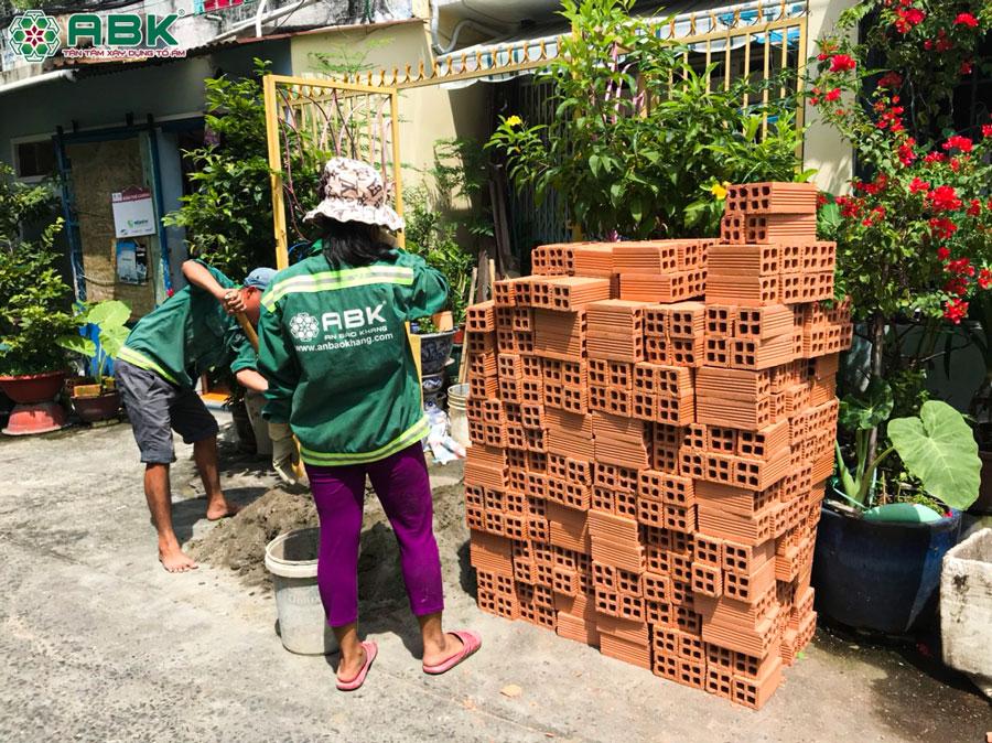 Sửa chữa nhà trọn gói – Nhà chị Châu ở Quận 8