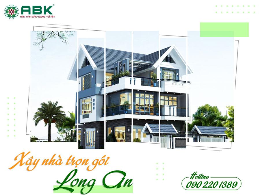 Bảng báo giá xây dựng nhà tại Long An